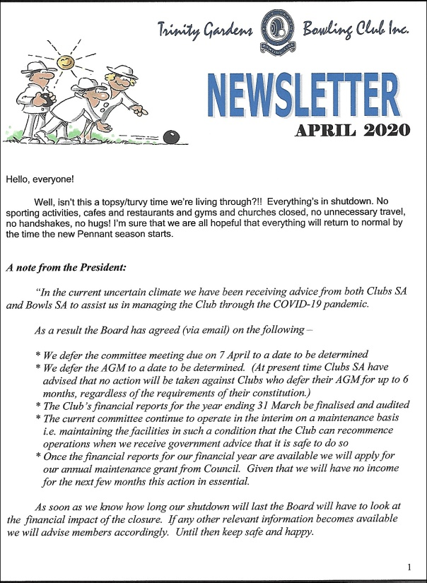 newsletters a1