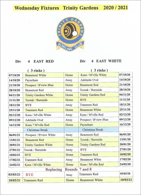 2020-12-wed fixtures to march